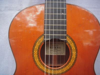 1972 Masura Kohno Model 10 Classical Guitar front