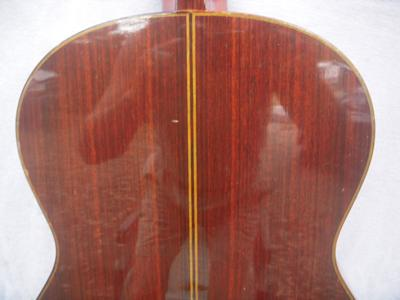 1972 Masura Kohno Model 10 Classical Guitar back