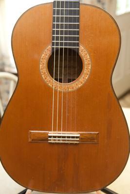 1982 Humphrey Pre-Millennium Cedar Classical Guitar