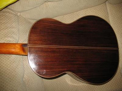 1988 Joaquin Garcia Classical Guitar back