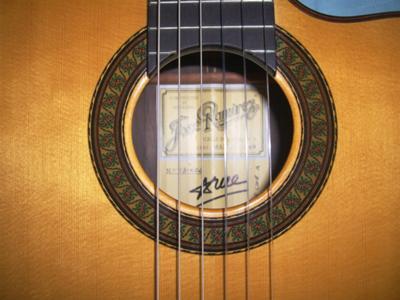 2003 JOSE RAMIREZ GUITAR 1A ROSETTE