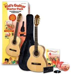 Alfred's Kid's Acoustic Guitar Course, Complete Starter Pack. Click to order with FREE shipping!