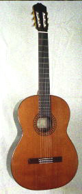 1984 R.E. Brune Model 20 Classical Guitar