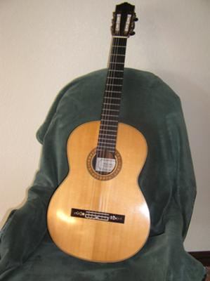 David Daily, solid spruce top