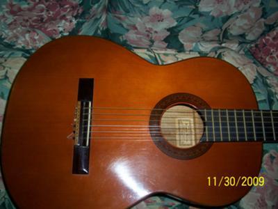 1970 FEDERICO GARCIA SHERRY BRENNER GUITAR