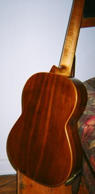 Gert Petersen 1997 cedar top