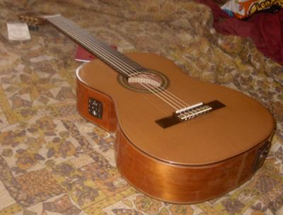 giannini acoustic electric classical guitar for sale. Black Bedroom Furniture Sets. Home Design Ideas