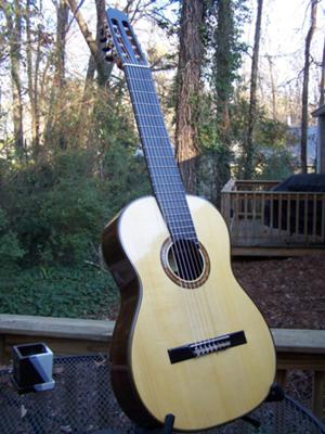 Giaochino Giussani 8-string guitar