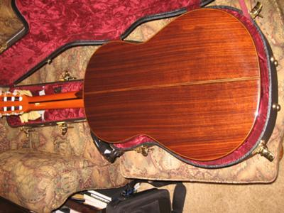 Pavan TP-30 Classical Guitar Back