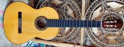 R E Brune Flamenco Guitar 1993