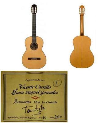 Victor Carrillo Flamenco Blanca Guitar