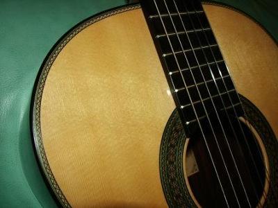 2009 Teodoro Perez Classical Guitar Top