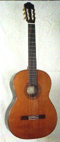 1984 R.E. Brune Model 20 Classical Guitar