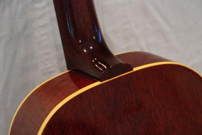 Gibson Acoustic Guitar, B25-12, 1964: Connection